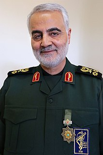 Qasem Soleimani Iranian major general who commanded the Quds Force