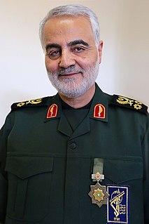 Qasem Soleimani Iranian senior military officer