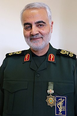 Qasem Soleimani with Zolfaghar Order