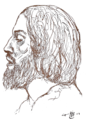 Qays ibn Al-Mulawwah by Khalil Gibran.png