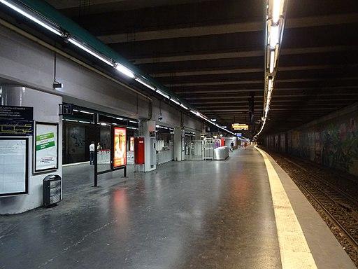 Quai central Neuilly-Porte Maillot