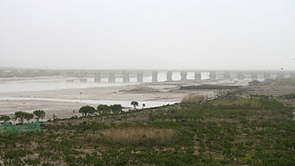 Luojiang District, Quanzhou - Luoyang Bridge over the estuary of the Luo River