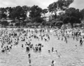 Queensland State Archives 2127 Beach scene Sandgate December 1937.png