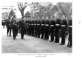 Queensland State Archives 4638 Opening of Parliament Governor Lt Gen Sir John Lavarack inspects Guards August 1952.png