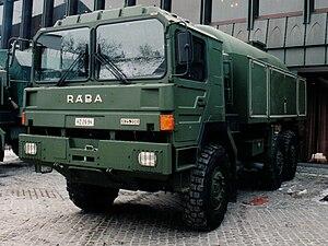Rába (company) - RÁBA Military truck