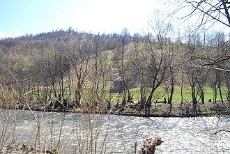 Moisei - Vișeu River in Moisei