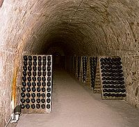 During The Bombardment Of German Artillery Of World War I, Many Champenois  Took Refuge In The Underground Caves Used For Champagne Storage.