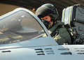 RAF Tornado Pilot Prepares for Mission over Tiji, Libya MOD 45152840.jpg