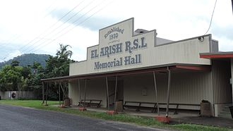 El Arish, Queensland - RSL Memorial Hall, 2016