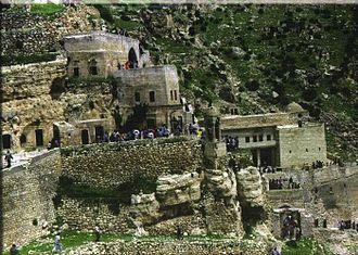 Assyrian homeland - Rabban Hormizd Monastery.