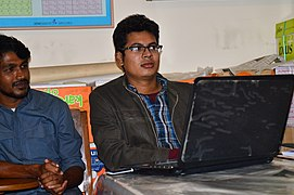 Rafaell Russell and Sourav Baul Basu at WPMCTG3 (01).jpg