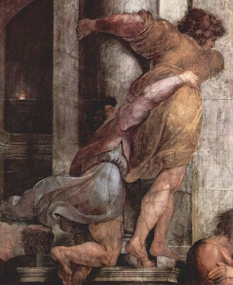 The Expulsion of Heliodorus from the Temple - Image: Raffael 094