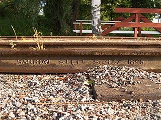 Rail profile Cross sectional shape of a railway rail