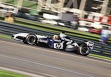 Ralf Schumacher al volante della Williams FW25 nel 2003