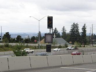 Ramp meter - A Portland, Oregon ramp meter