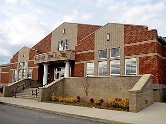 Ranburne, Alabama - Image: Ranburne High School Ranburne, Alabama