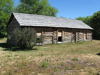 Cholila, Argentina - Butch Cassidy's cabin near Cholila.
