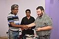 Rangan Datta Presents Memento To Asaf Bartov - Wikidata Workshop - Kolkata 2017-09-16 2736.JPG