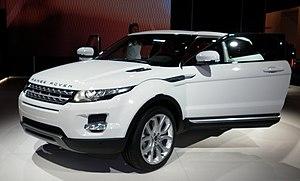 Français : Range Rover evoque Paris 2010
