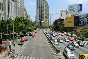 Criminal Court of Thailand - Image: Ratchadaphisek Road Asok junction