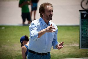 Ray Comfort - Comfort open-air preaching, October 2015