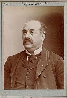 Raymond Deslandes French playwright