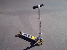 Adult folding scooter size