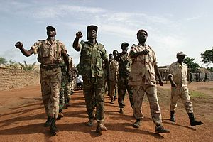 Central African Republic Civil War (2012–2014) - Rebels in northern Central African Republic in June 2007.
