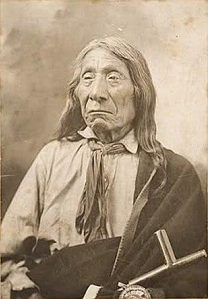 Felix Flying Hawk - Chief Red Cloud, 1905, by Felix Flying Hawk