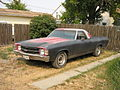 Red and black Chevy El Camino SS.jpg