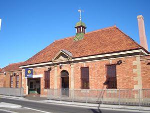 Redfern railway station - Lawson Street entrance
