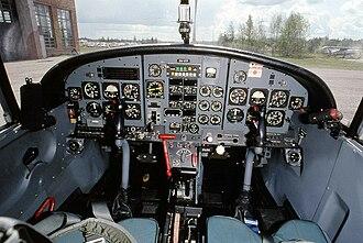 Aermacchi M-290 RediGO - Redigo cockpit