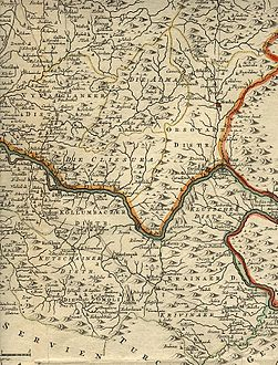 Region between Timok and Morava from Map of Banat of Temesvár (1740).jpg