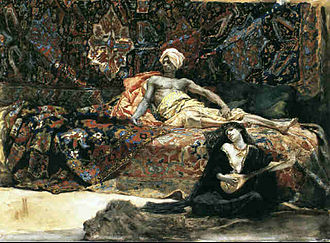 Henri Regnault - Hassan and Namouna, 1870.