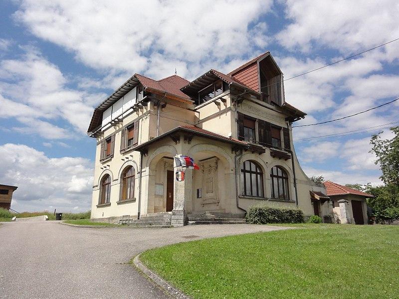 Reillon (M-et-M) mairie - école