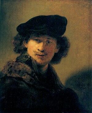 Portrait of a Young Man with a Golden Chain - Rembrandt. Self-Portrait, 1634. Gemäldegalerie, Berlin.