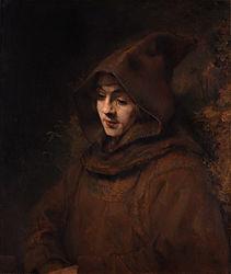 Rembrandt: Titus as a Monk