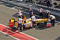 Renault R29 Barcelona testing.jpg