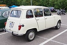 Renault 4 wikipedia for Interieur 4l