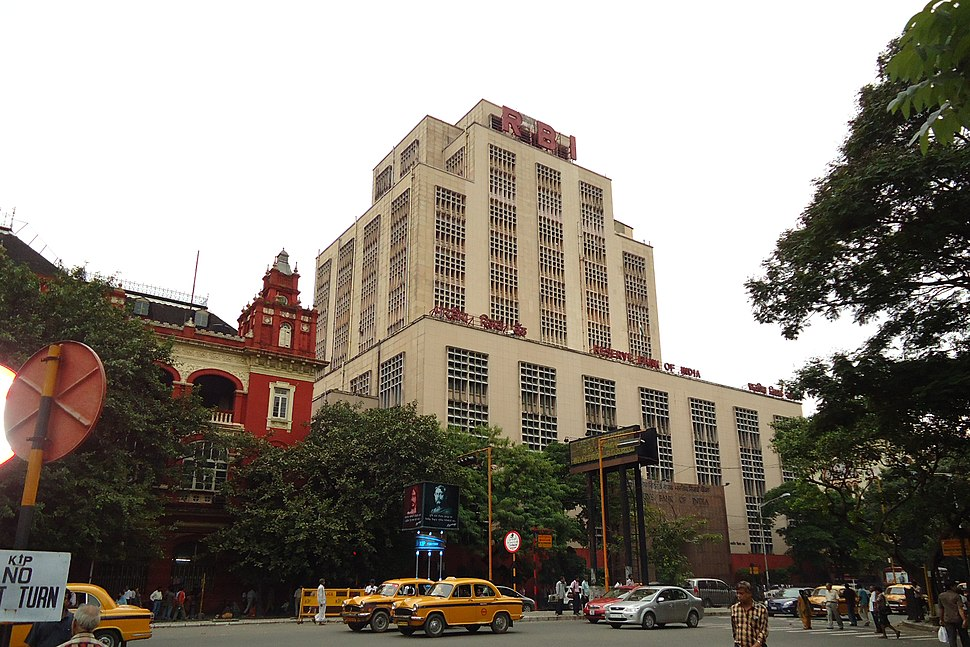 Reserve Bank of India (RBI) building, September 2011