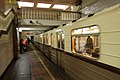 Retro train at Park Kultury - radialnaya station (Ретропоезд на станции Парк Культуры - радиальная) (5600293604).jpg