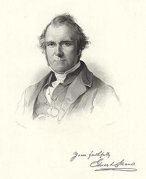 Edward Steane - Rev Edward Steane in 1862