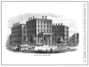 Samuel Smith Kilburn - Image: Revere House Specimen of Designing by SS Kilburn ca 1865