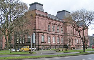 museum of archaeology, antiquities and art in Trier, Weimarer Allee