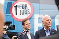 Rick Scott and Carlos Lopez-Cantera at the USAA Grand Opening.jpg