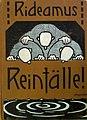Rideamus - Reinfälle!. 1910 - Hermann Wilke.jpg