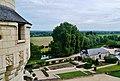 Rigny-Ussé Château d'Ussé Blick vom Dach 5.jpg