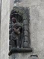 Riom rue Massillon 5 statuette.JPG