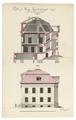 Ritning på hovrätten i Vasa, 1784-1788 - Skoklosters slott - 99012.tif