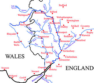 Einzugsgebiet des Severn